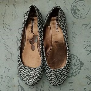 Sparkly Dollhouse dress shoes